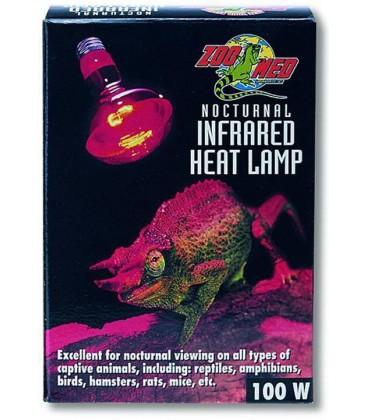 Repti Lampe Spot Infra rouge 100W