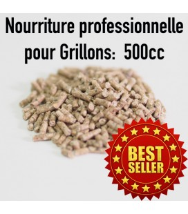 Nourriture Grillon en pellets 500cc
