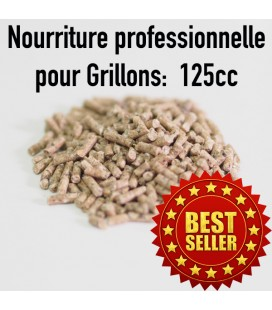 Nourriture Grillon en pellets 125cc
