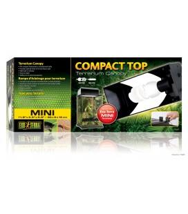 Compact Top / Rampe compacte d'éclairage fluorescent pour terrarium