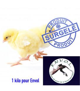 Don de 1 kilo de Poussin pour Association ENVOL