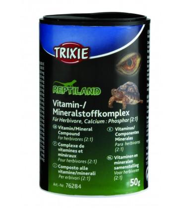 Complexe de Vitamine/Minéraux, p. Herbivores, 50gr
